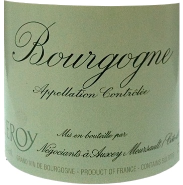 Bourgogne blanc 2008 collection maison leroy for Collection maison leroy merlin