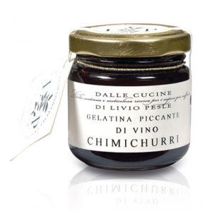 Gelatina Piccante di Vino Chimichurri Livio Pesle