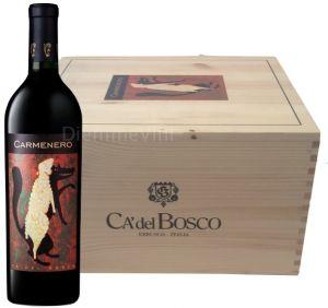 Cassa Legno 6 bt. Carmenero Rosso del Sebino Igt 2009 Ca' Del Bosco