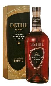 Distille Grappa Barricata Riserva 36 Mesi Brotto