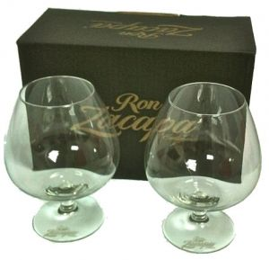 Confezione 2 Bicchieri Rum Centenario Zacapa