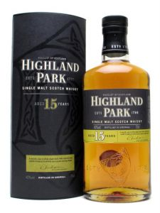 Whisky Single Malt 15 years Old Highland Park