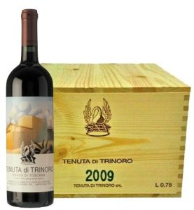 Cassa Legno 6 Bt. Tenuta di Trinoro Toscana Igt 2009 Tenuta di Trinoro