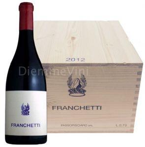Cassa Legno 6 Bt. Franchetti Sicilia Igt 2012 Passopisciaro