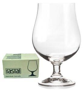 6 Bicchieri Calice Birra Cristallino Sonoro Superiore Lüttich 38 Rastal