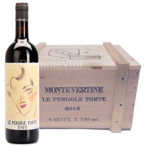 Cassa Legno 6 Bt. Le Pergole Torte Toscana Igt. 2012 Montevertine