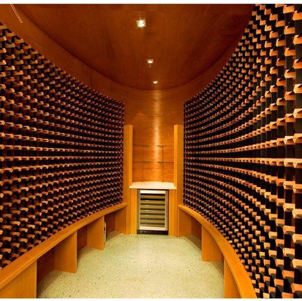 scaffale legno 12 bottiglie modulare