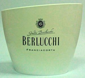 Secchiello Acrilico Bucket Oval Bianco Berlucchi