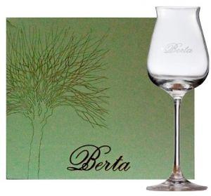 6 Bicchieri Calice Degustazione Berta Distillerie