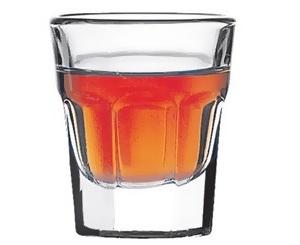 6 Bicchieri Liquore Temperato Casablanca 13,7 Rastal
