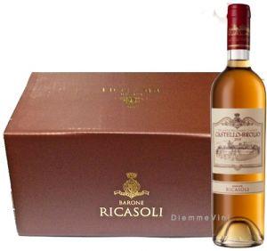 6 bt. Castello di Brolio Vin Santo Chianti Classico Doc 2009 Barone Ricasoli