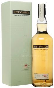 Whisky 25 anni Distilled 1989 Natural Cask Strength Pittyvaich