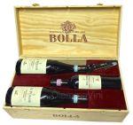 Confezione Legno Selezione 3 Bottiglie + Levatappi Bolla
