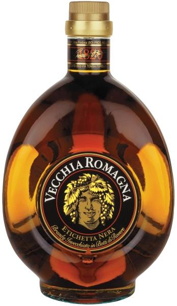 Brandy Vecchia Romagna Etichetta Nera Lt. 1,0
