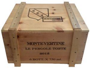 Cassa Legno Vuota Usata Originale Le Pergole Torte Montevertine