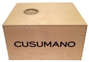 Cassa Legno Vuota Usata Originale Cusumano