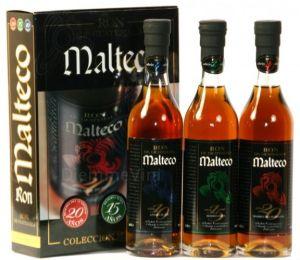 Confezione Box cl. 20 Degustazione Rum Malteco
