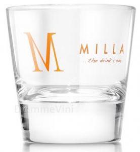 6 Bicchieri Tumbler Temperato Milla Marolo Distilleria