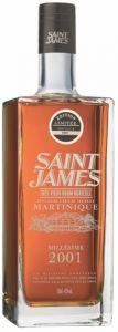 Rum Hors D'Age Cuvée 2001 Saint James