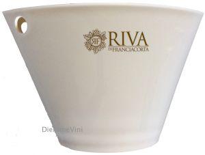 Secchiello Bucket Ovale Bianco Riva di Franciacorta