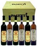 Cassetta Legno 3+3 Bt. Testarossa Pasetti