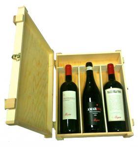 Cassetta Legno 3 Bottiglie Allegrini