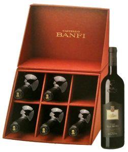 Confezione 6 Bt. Poggio Alle Mura Docg 2004 Castello Banfi