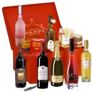 Confezione Specialità Gastronomico Castello Banfi