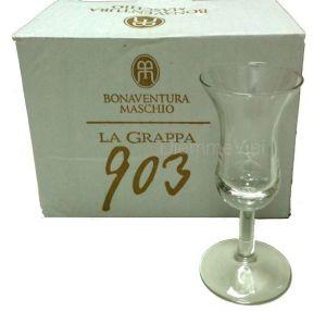 6 Bicchieri Grappa 903 Bonaventura Maschio