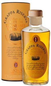 Grappa Riserva Whiskey Sibona