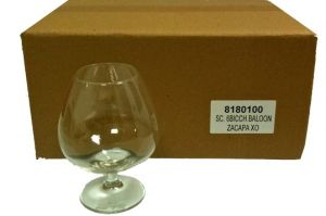 6 Bicchieri Calice Baloon Rum Centenario XO Zacapa
