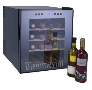 Cantina Frigo 16 Bottiglie Cassetti in Legno VinumDesign