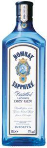 Gin Premium London Dry Saphire Lt. 1,0 Bombay