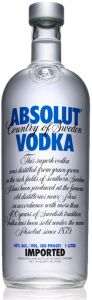 Vodka Lt.1.0 Absolut Blu