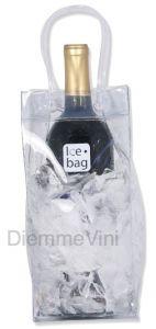 Borsa Ghiaccio Trasparente Porta Bottiglia Ice Bag