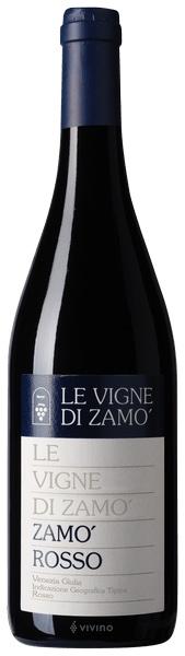 Zamò Rosso Igt. Venezia Giulia 2014 Le Vigne Di Zamò