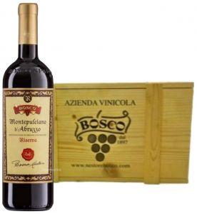Cassa Legno 3 Bt. Montepulciano D'Abruzzo Riserva Doc 2014 Nestore Bosco