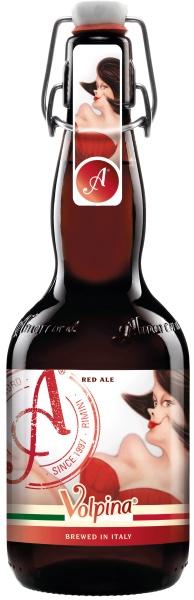 Birra Artigianale Volpina Rossa Alta Fermentazione Amarcord