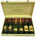 Cassetta Legno 6 Bottiglie Assortite Castello Banfi