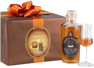 Panettone Artigianale Kg.1 alla Grappa Sibona Distillerie