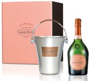 Cofezione Champagne Cuvée Rosé Con Secchiello Laurent Perrier