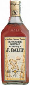 Rhum Ambré Agricole Martinique Bally