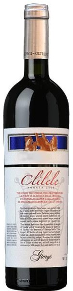 Clilele Oltrepò Pavese Rosso Doc 2007 Giorgi