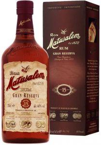 Rum Gran Reserva Solera 15 anni Matusalem