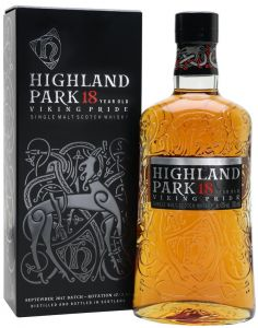 Whisky Single Malt 18 years Old Highland Park