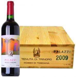 Cassa Legno 3 Bt. Palazzi Rosso Toscana Igt 2009 Tenuta di Trinoro