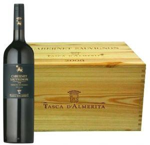 Cassa Legno 6 Bt. Cabernet Sauvignon in Purezza Igt 2009 Tasca d'Almerita