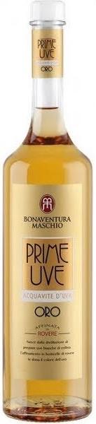 Prime Uve Oro Acquaviti D'Uva Bonaventura Maschio
