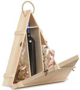 Cassetta Legno Vuota Piramide