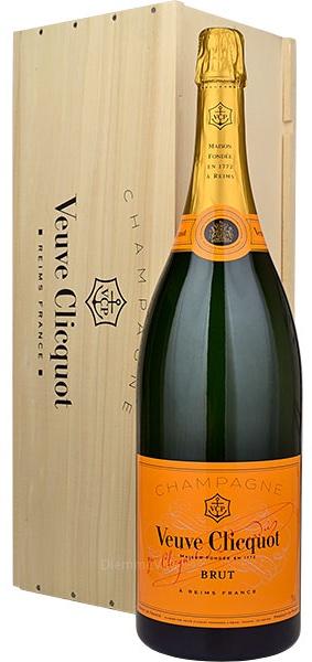 Cassa Legno Jeroboam 3lt. Champagne Brut Veuve Clicquot
